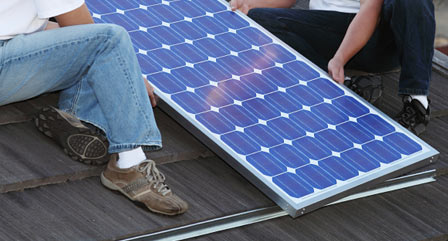 How to install a solar panel system