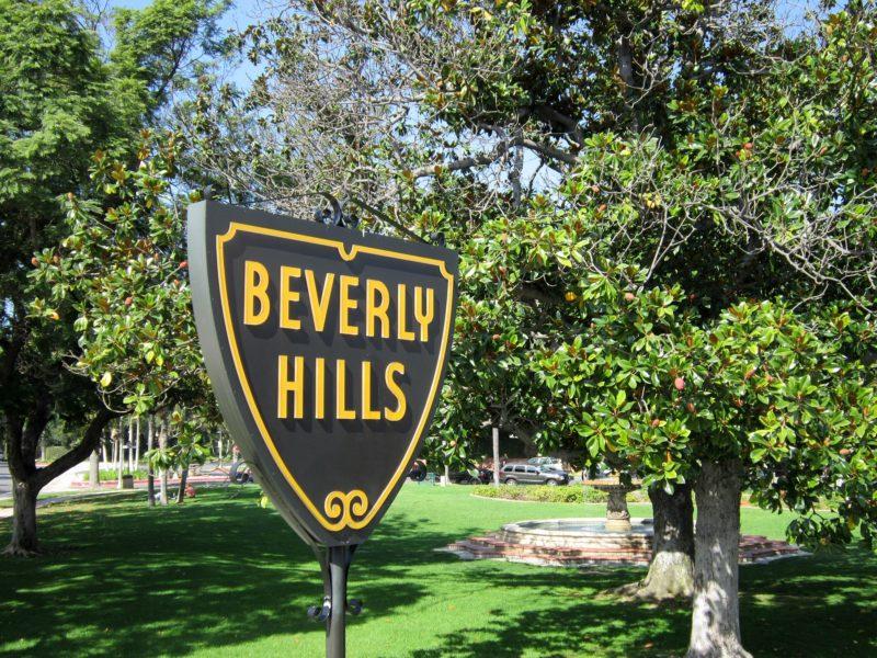 Beverly Hills fault boundaries