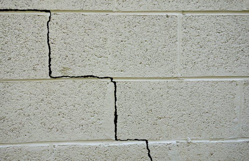foundation warning signs